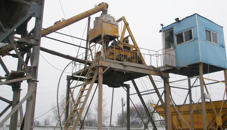 Б/у бетонный завод JS500