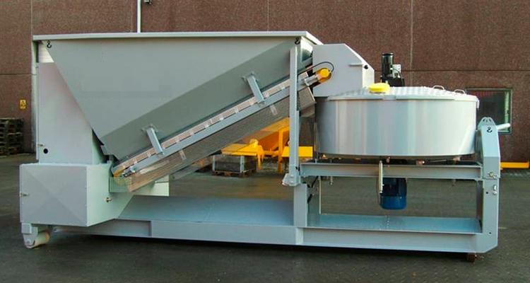 Мобильный бетонный завод Sumab C-15-1200